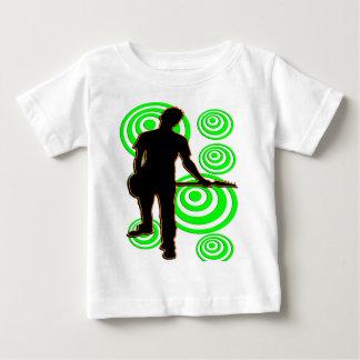 ロックスターの男のTシャツおよびギフト ベビーTシャツ