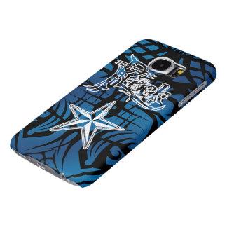ロックスターの青い種族の銀河系S6の箱 SAMSUNG GALAXY S6 ケース