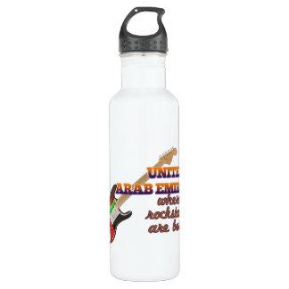 ロックスターはアラブ首長国連邦で生まれます ウォーターボトル