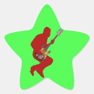 ロックスターバッジ 星シール