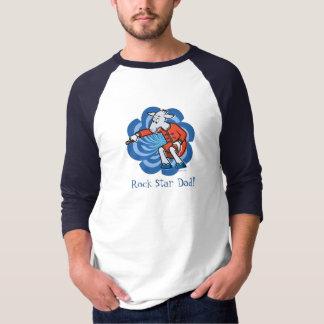 """""""ロックスターパパ""""のTシャツ Tシャツ"""