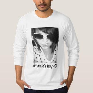 ロックスター、アマンダの男の子<3 Tシャツ