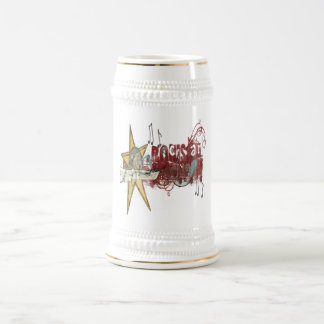 ロックスター-ステイン ビールジョッキ