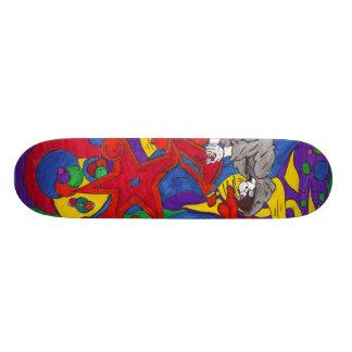 ロックスター 19.7CM スケートボードデッキ