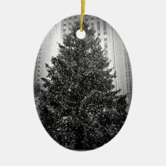 ロックフェラーのクリスマスツリーのオーナメント セラミックオーナメント
