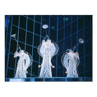 ロックフェラーの中心のクリスマスの天使 ポストカード