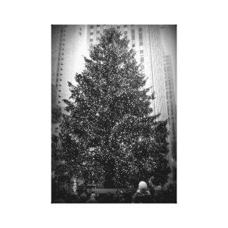 ロックフェラーの中心のクリスマスツリーのキャンバスのプリント キャンバスプリント