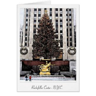 ロックフェラーの中心-ニューヨークシティ カード