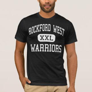 ロックフォード西の-戦士-高ロックフォード Tシャツ