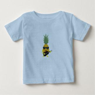 ロックンロールのパイナップル ベビーTシャツ