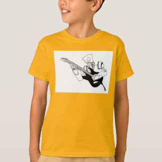 ロックンロールのロボット Tシャツ