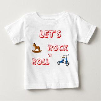 ロックンロールのワイシャツは ベビーTシャツ