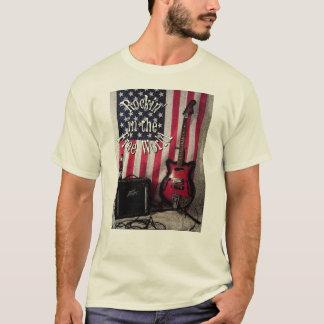 ロックンロールのワイシャツ Tシャツ