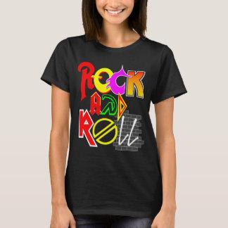 ロックンロールの女性の基本的なTシャツ Tシャツ