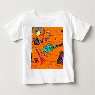 ロックンロールの荒れ地 ベビーTシャツ