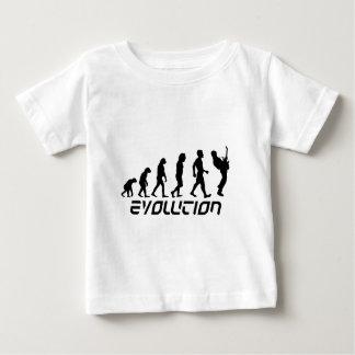 ロックンロールの進化 ベビーTシャツ