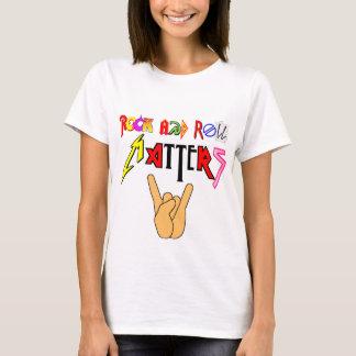 ロックンロールはTシャツ基本的な女性の重要です Tシャツ