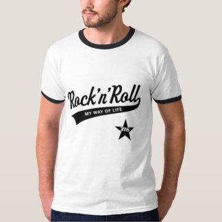 ロックンロールメンズワイシャツ Tシャツ