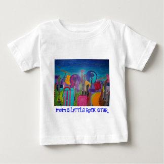 ロックンロール都市 ベビーTシャツ