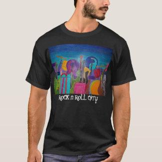 ロックンロール都市 Tシャツ