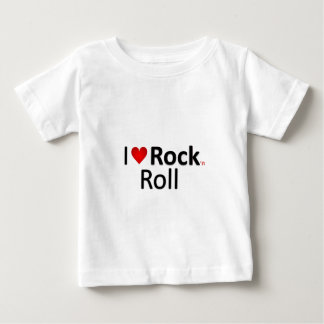 ロックンロール ベビーTシャツ