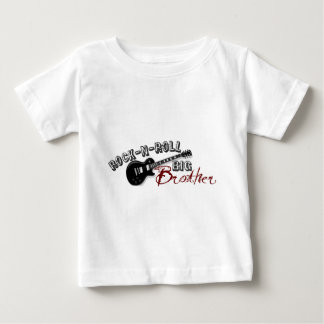 ロックnロールお兄さん ベビーTシャツ
