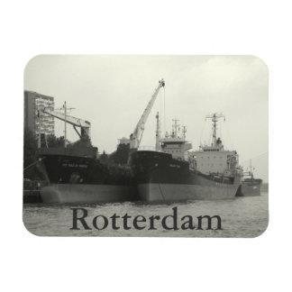 ロッテルダムの港 マグネット