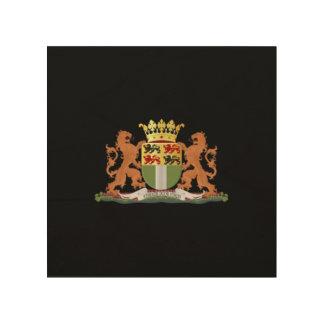 ロッテルダムの紋章付き外衣 ウッドウォールアート