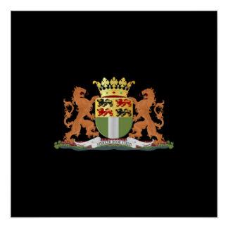 ロッテルダムの紋章付き外衣 ポスター