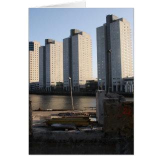 ロッテルダムの超高層ビル カード