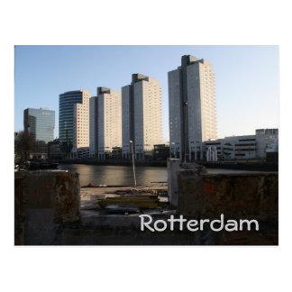 ロッテルダムの超高層ビル ポストカード