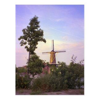 ロッテルダムのSchiedamの風車 ポストカード