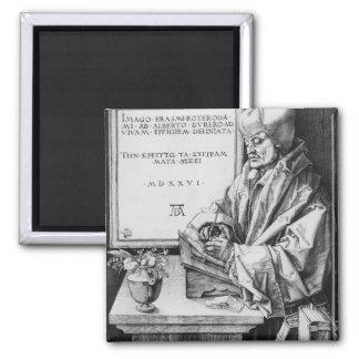 ロッテルダム1526年のデジデリウス・エラスムス マグネット
