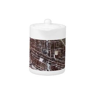 ロッテルダム1652年のレプリカ都市地図