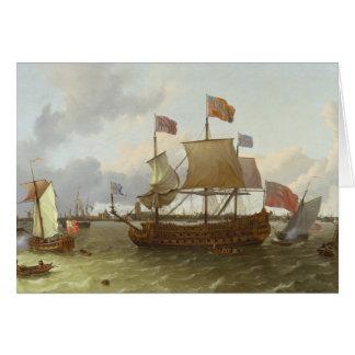 ロッテルダム1698年の3マスター「Britannia」 カード