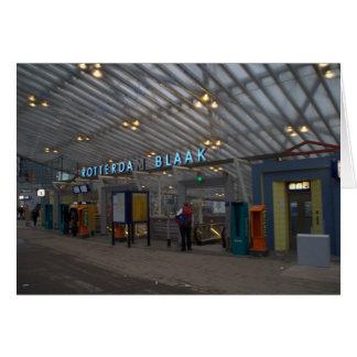 ロッテルダムBlaakの駅 カード