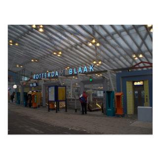 ロッテルダムBlaakの駅 ポストカード