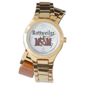 ロットワイラーのお母さんのギフト 腕時計
