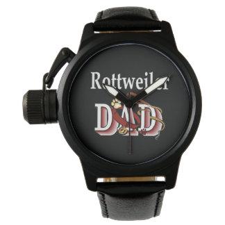 ロットワイラーのパパのギフト 腕時計