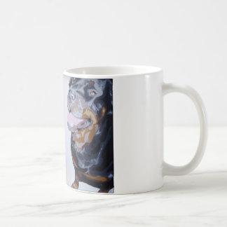 ロットワイラーのマグ コーヒーマグカップ