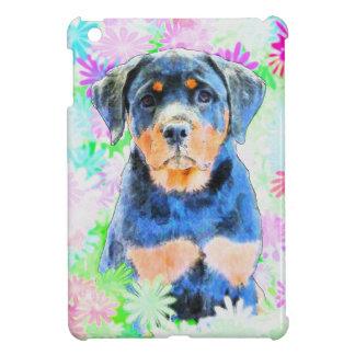 ロットワイラーの子犬 iPad MINI CASE