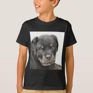 ロットワイラーの子犬 Tシャツ