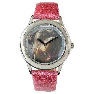 ロットワイラーの腕時計 腕時計