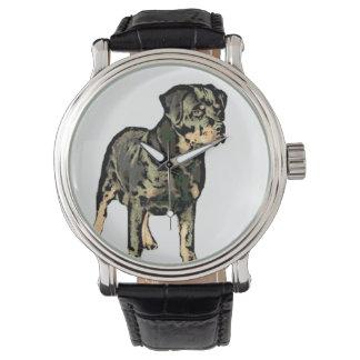 ロットワイラー犬 腕時計