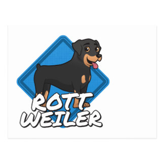 ロットワイラー ポストカード