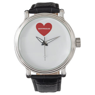 ロットワイラー 腕時計