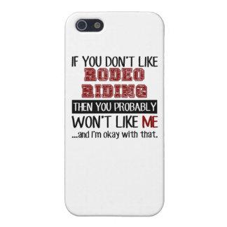 ロデオの乗馬のカッコいいを好まなければ iPhone 5 カバー