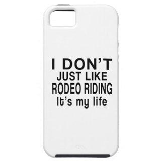 ロデオの乗馬は私の生命です iPhone SE/5/5s ケース