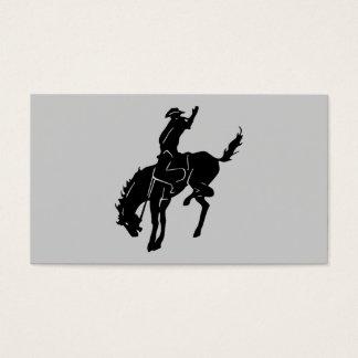ロデオの名刺の馬 名刺