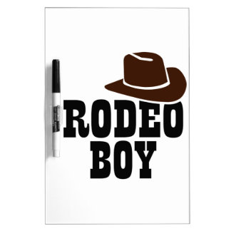 ロデオの男の子 ホワイトボード